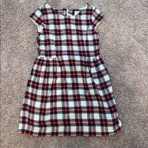 Gap plaid dress